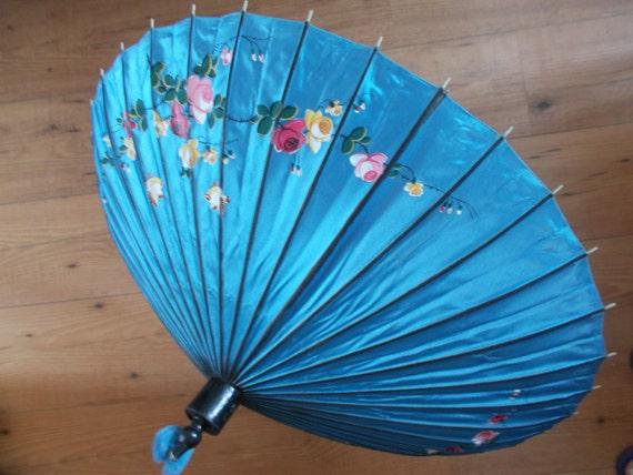 Antique Silk Parasol