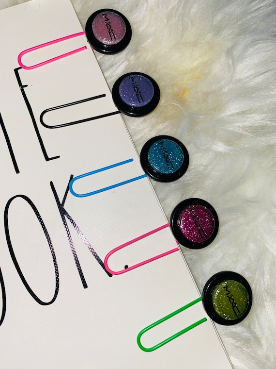 Makeup Fashion Journal Paperclips