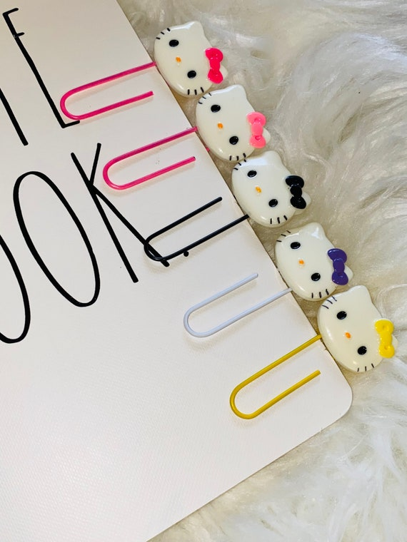 Kitty Journal Paperclips