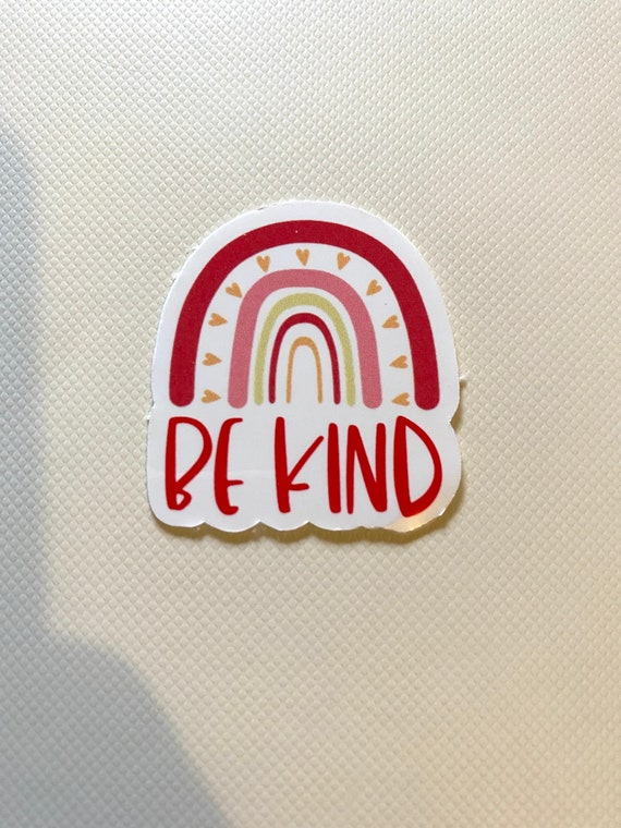 Be Kind Planner Journal Glossy Stickers