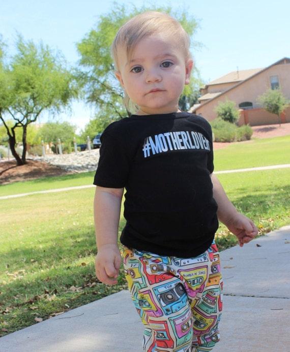 Motherlover Mother's Day tshirt toddler kids girl boy shirts