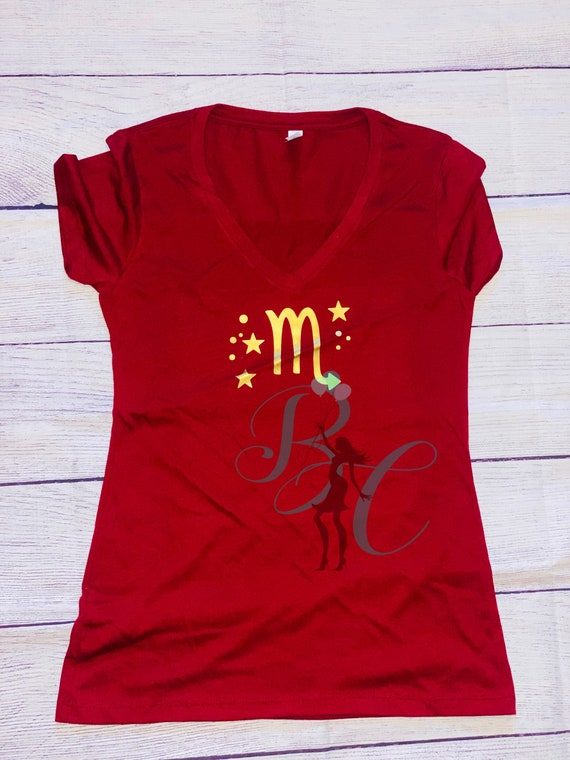 Custom woman Vneck, Crew neck, or tank top  shirt