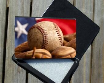 Kindle Fire, Kindle Fire HD, Nook Color Case - Baseball Design
