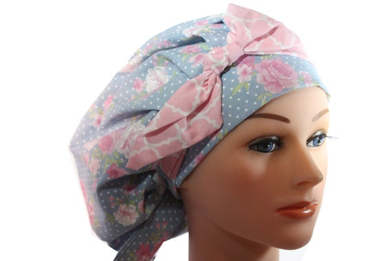 Scrub Cap Surgical Bouffant Hat Chemo Chef Vet Doctor