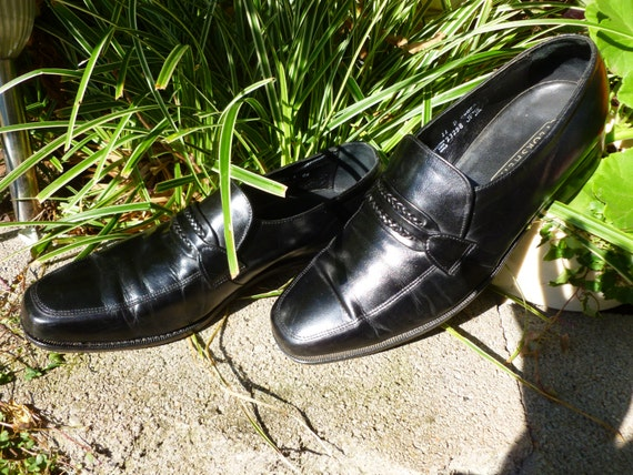 fd300bb5423 Mens Size 11 D Black Leather Florsheim Slip On Loafer Dress