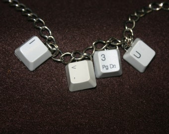 Computer Key Bracelet - Custom Made