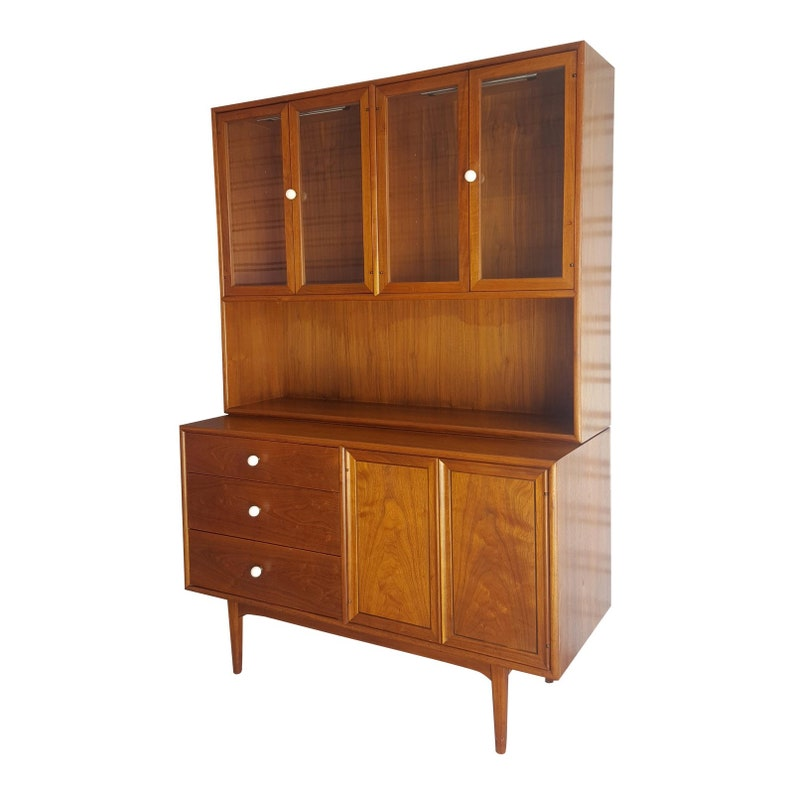 Mid Century Modern Drexel Declaration China Cabinet By Kipp