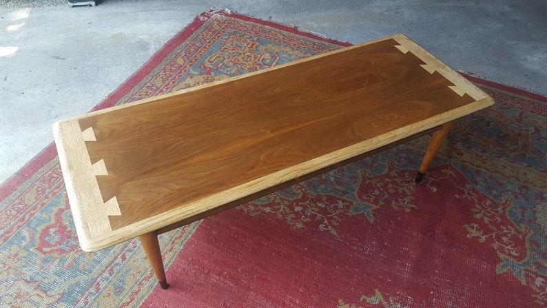 Vintage Mid Century Modern Lane Acclaim Coffee Table Dovetail Etsy