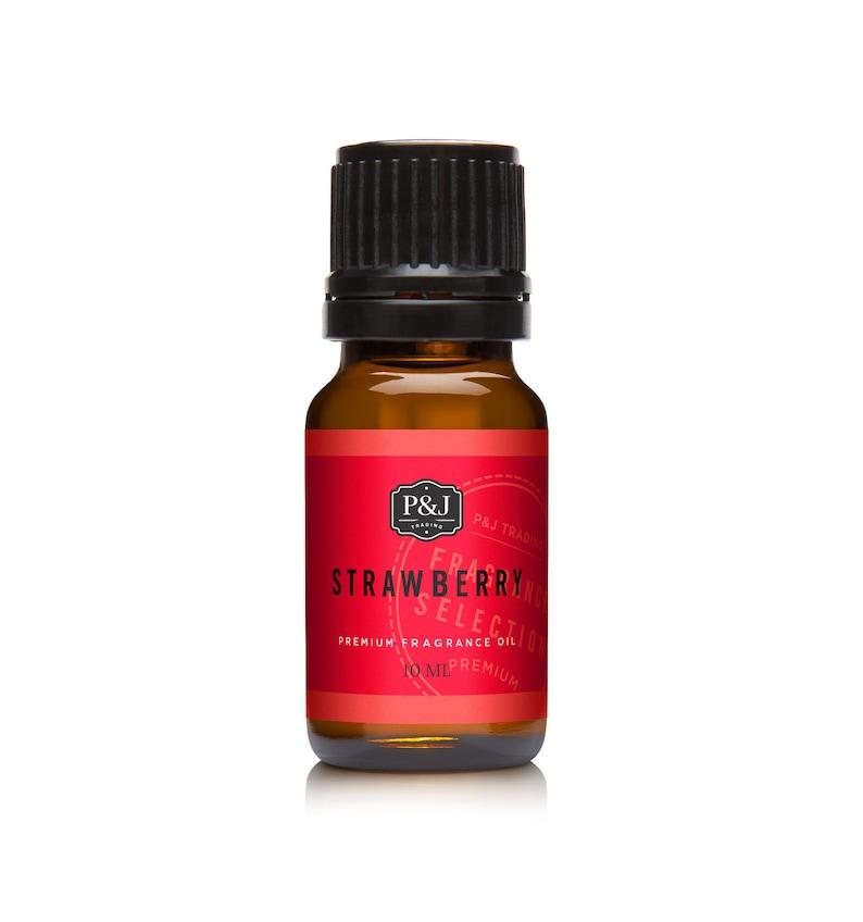 Strawberry Premium Grade Fragrance Oil  Scented Oil  image 1