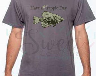 4749a3bc Father's Day / Crappie T-Shirt / Cut File / Gift Ideas / Cameo Projects /  Cricut Projects / Silhouette Projects / SVG / Homemade / DIY