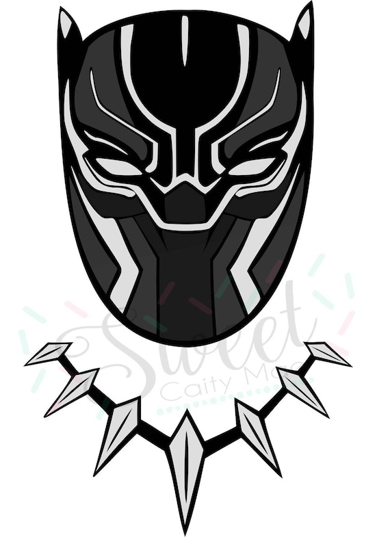 Avengers Black Panther Marvel Cut File Cameo Projects Etsy