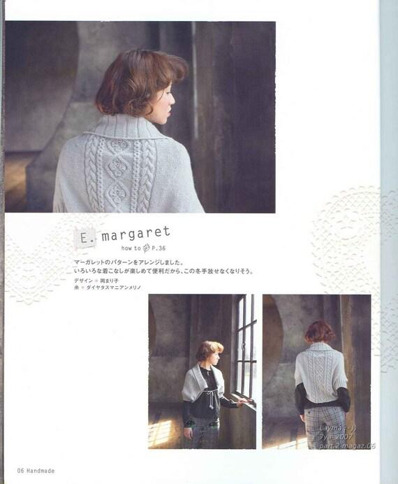 n.465 de punto y ganchillo libro Bolero Chaqueta túnica suéter | Etsy