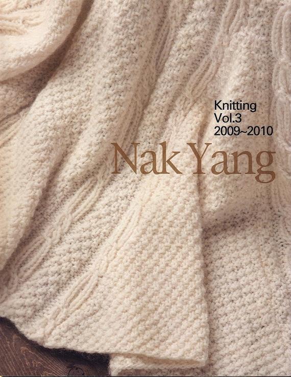 Libro de tejer patrones PDF japones de YANG NAK Vol.3 | Etsy