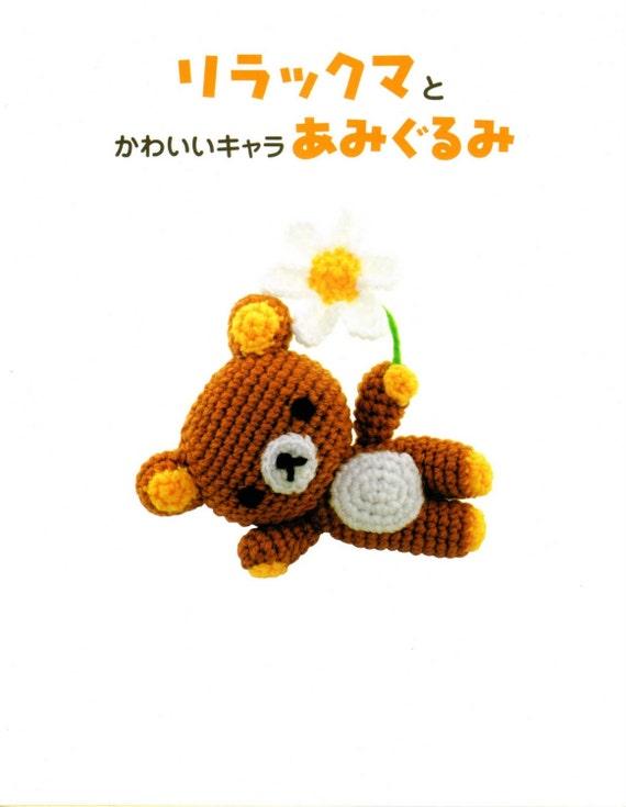 Ebook amigurumi oso San-X y amigos Panda gato pato rana   Etsy