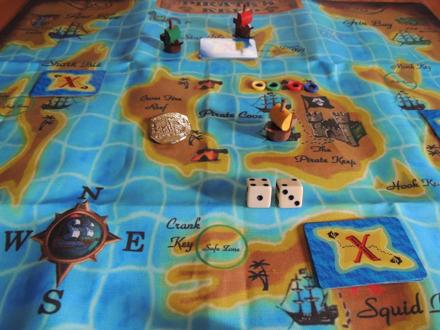Case Blue Board Game : Book case version pirates keep board game kids will love the