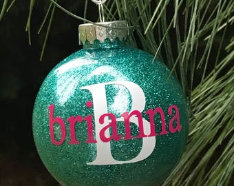 kids non breakable personalized christmas tree ornament personalized ornament kids ornaments shatterproof dated 2018