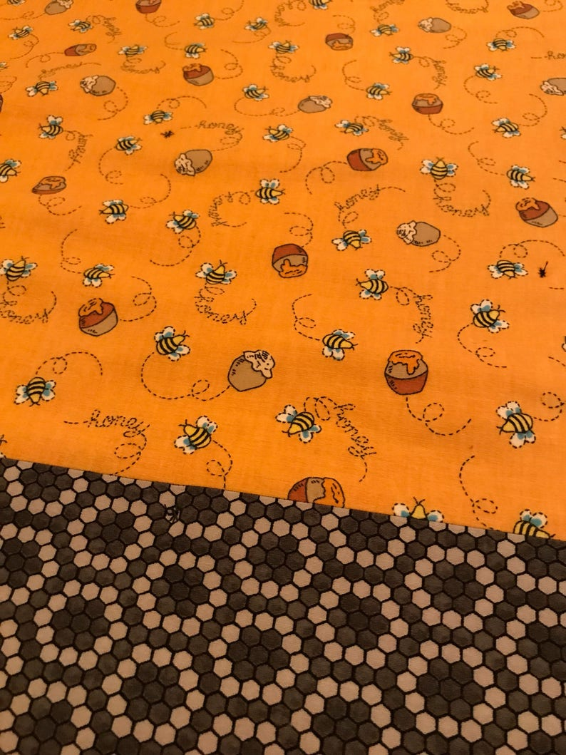 Funny Bumble Bees Quilt