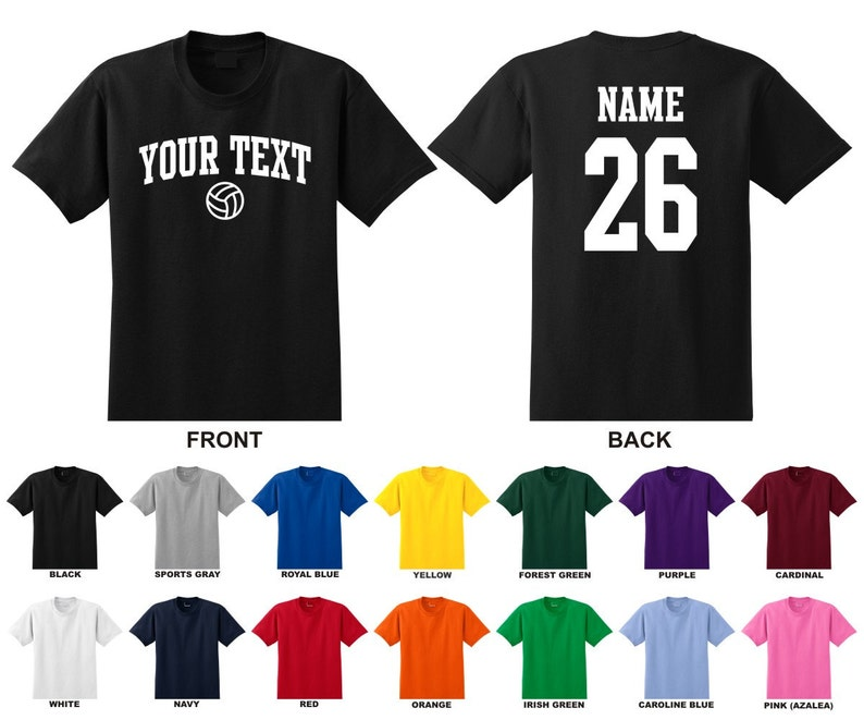 Custom Choose Text /& Number Personalized Toddler Baseball T-shirt ARCHED TEXT