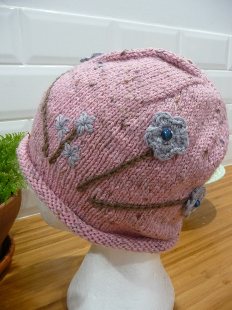 Whispy Garden Pure Wool Hat 1866