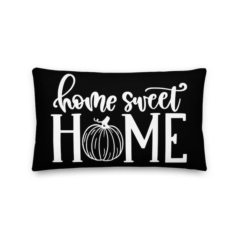 Home Sweet Home Pillow Rustic Decor Home Decor Decorative image 0