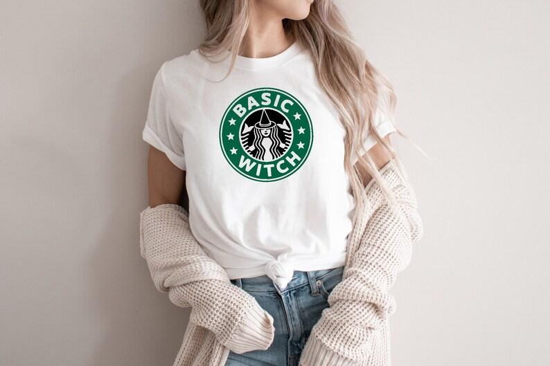 Basic Witch Shirt Witch T-Shirt Funny Shirt Halloween Shirt image 0