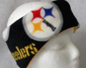 7f5c347c Steelers ear warmer   Etsy