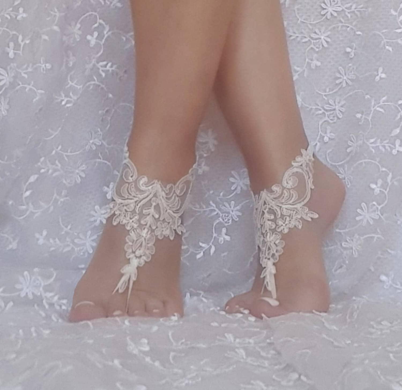 c720f62f5964e 11 color lace barefoot sandals