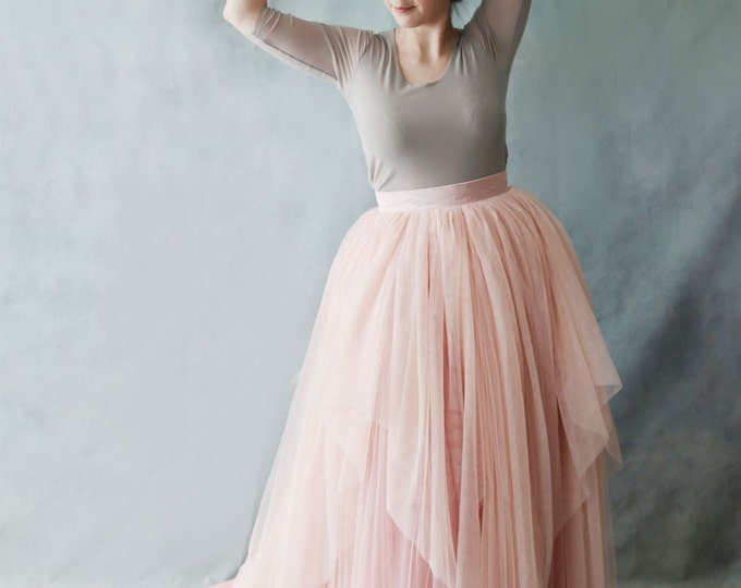 Ready to ship - Simple Retro Design High Quality Double Strength Tulle Wedding Bridal Top