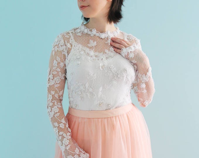 Beautiful Flower Lace Bolero - L'amei