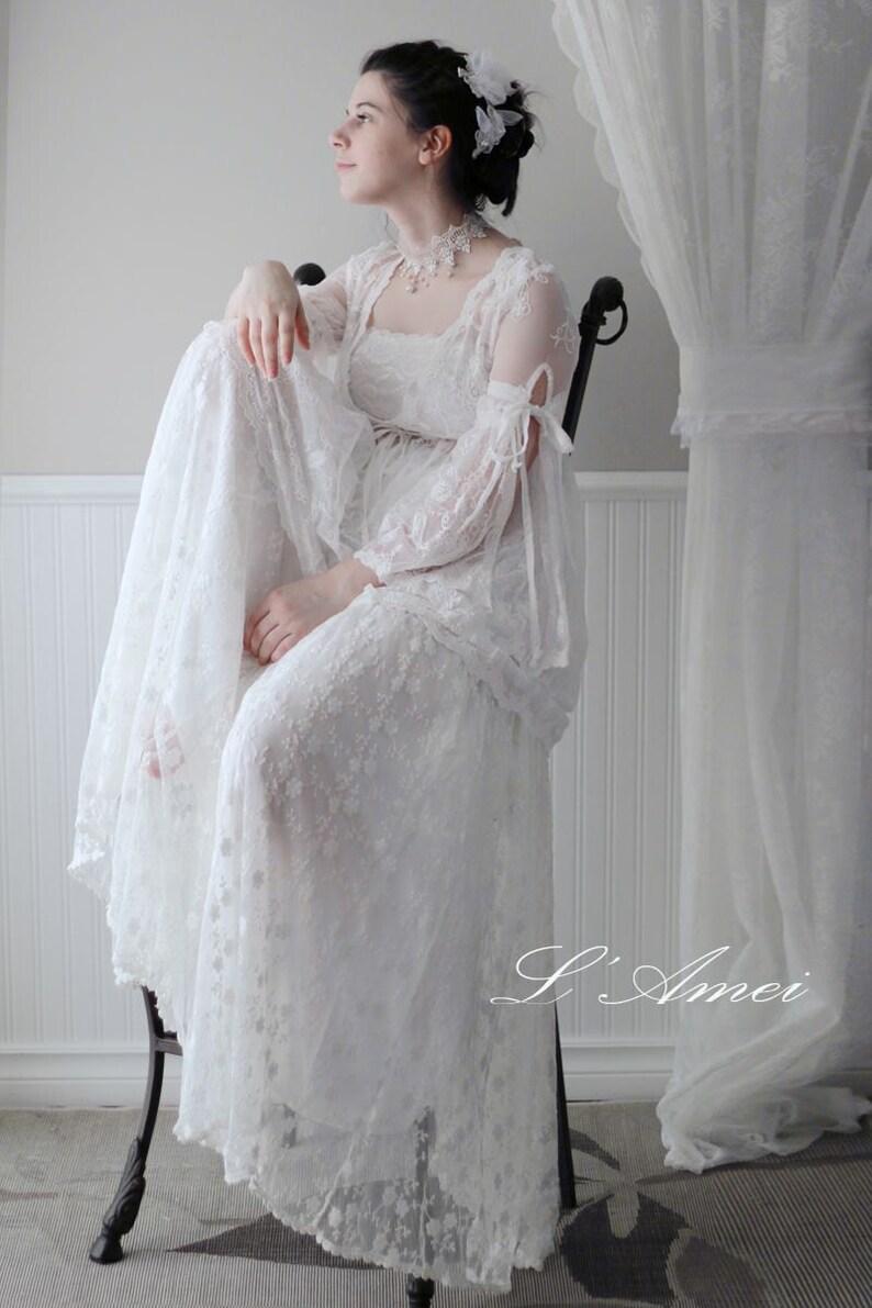 fc40988c290 SOLDES brodé LAmei 1224250 robe de mariée en dentelle