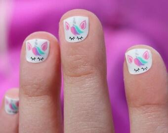 Unicorn Mini Nail Wraps