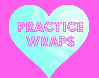 Practice Nail Wraps - Adult Size