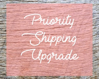 Upgrade current order to priority shipping