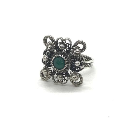 Filigree Jade Ring - Vol 1