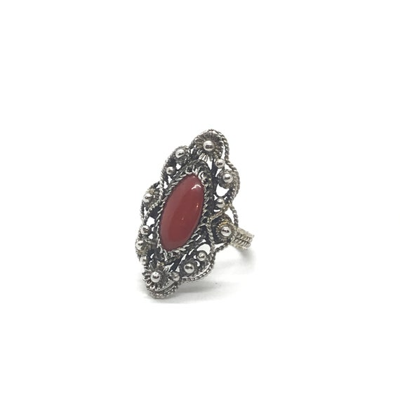 Filigree Coral Ring - Vol 1