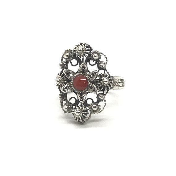 Filigree Coral Ring - Vol 2
