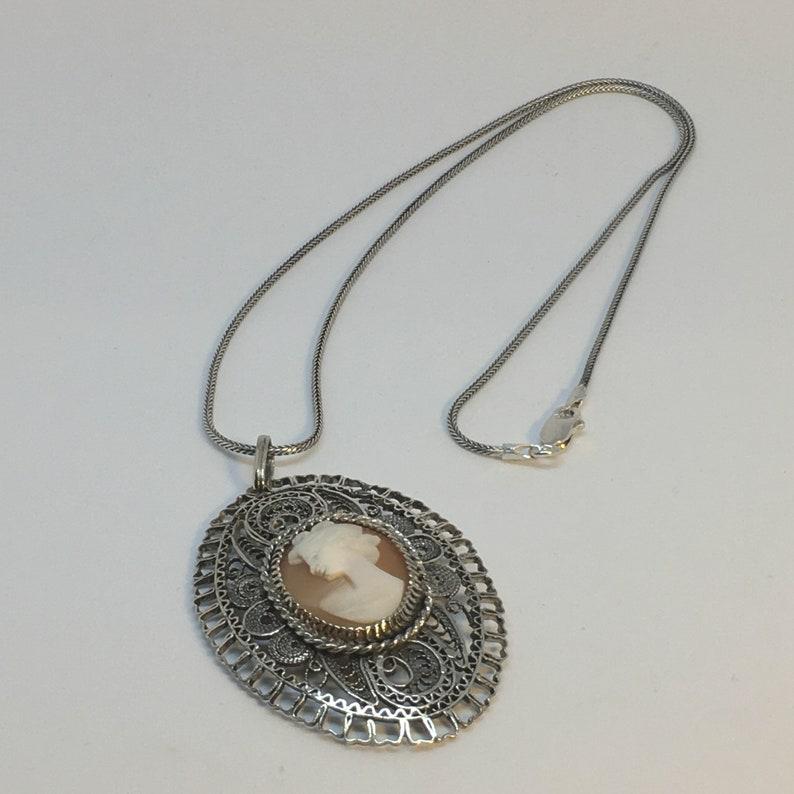 Mediterranean Cameo Necklace Vol 1