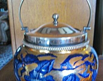 Antique Tea Biscuit Jar