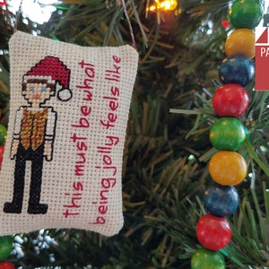 Cross Stitch Pattern Colorful Christmas Trees Evergreen Instant Digital PDF Download by Pamela Kellogg