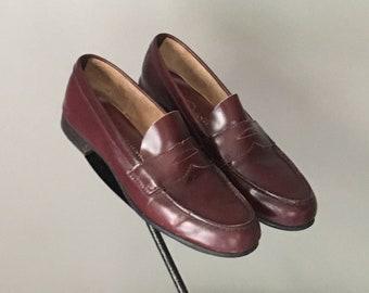 0c1e2ddc4e0 Darling Vtg 70s Charmtone Label Penny Loafer Slip On Shoe 8.5 N Excellent  Condition