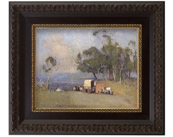 FRAMED - Pioneers Entering the Valley - Latter-day Saint Historic Collection - LDS Art