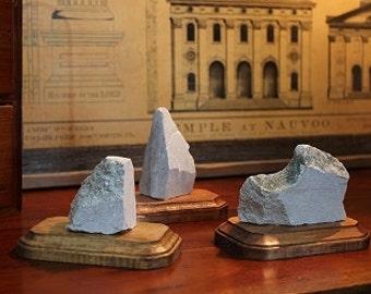 Original 1846 Nauvoo Temple Stone - Latter-day Saint History - Joseph Smith Limestone Carthage Hyrum Martyrdom LDS Art Nauvoo Mercantile