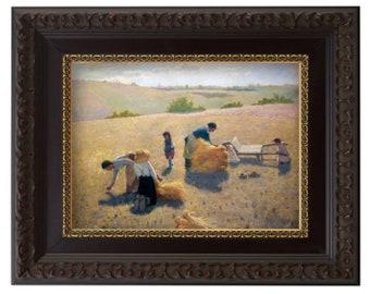 FRAMED - The Gleaners - Latter-day Saint Art Collection - LDS Art