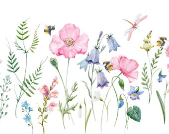 Wildflowers & Bees - Note Card Set