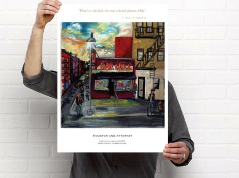 Houston and Attorney  Art Print/Poster  daiZnyc image 0