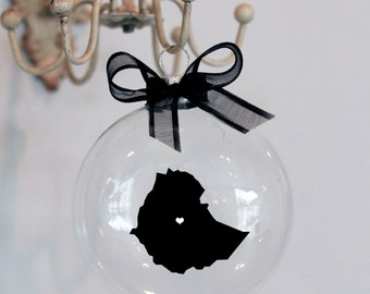 Ethiopia Christmas Ornament, Mission, Adoption