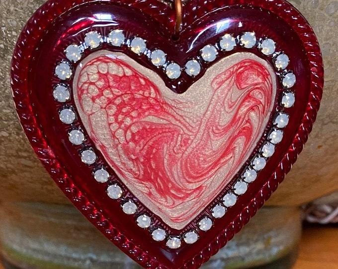 Big Heart Pendant Necklace