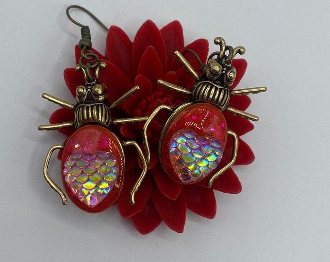 Earrings Love Bug