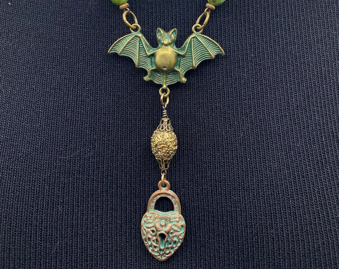 Bat Necklace Batty for you!