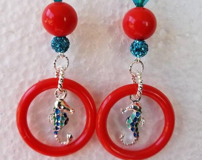 Seahorse Dangling Earrings